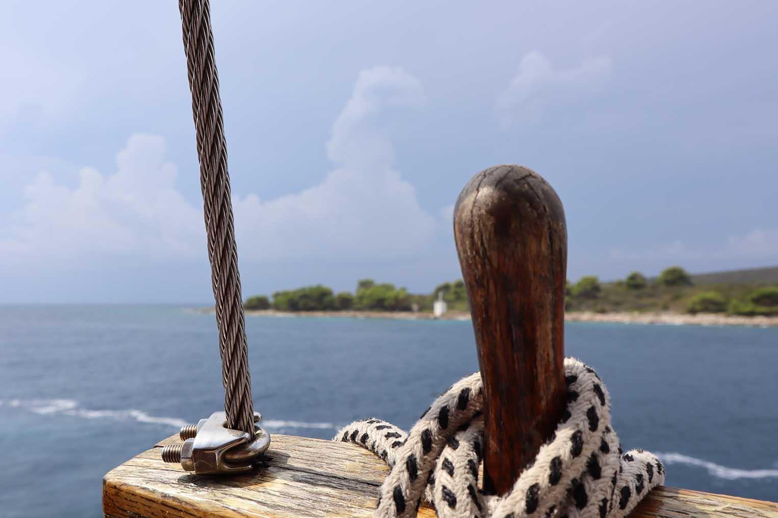 Mediterranean sailing holiday - purjehdusloma välimerellä