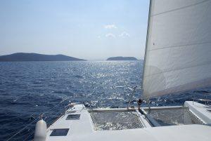 Kreikka katamaraani purjevene vuokraus